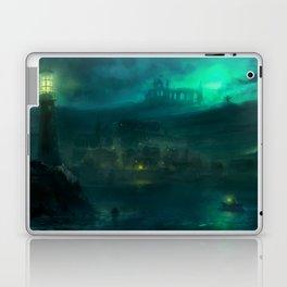 Haunted Fishing Village Laptop & iPad Skin