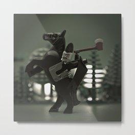 Headless Horseman Metal Print