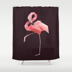 Flamingo. Shower Curtain