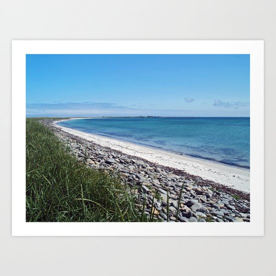 The Bay of Lopness Art Print