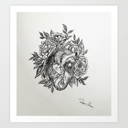 Flowers of your Love Art Print