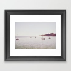 B o w t i n g Framed Art Print