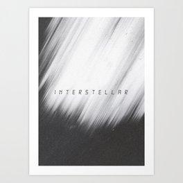 A MOVIE POSTER A DAY: INTERSTELLAR Art Print