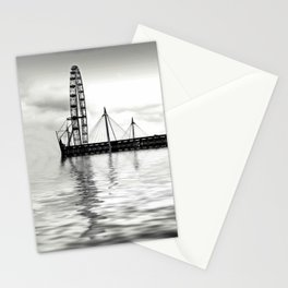 Watery eye (London eye) Stationery Cards