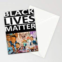 Black Lives Matter - African American Leaders and Heroes Stationery Cards