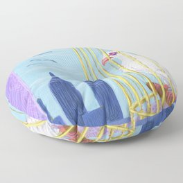 Why Oh Why Can't I? Floor Pillow