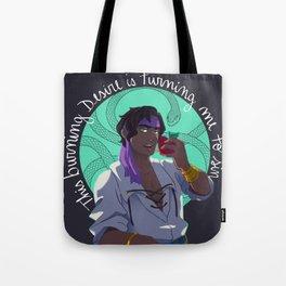 Burning Desire (brighter) Tote Bag