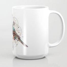 Ornate Tui Bird Coffee Mug