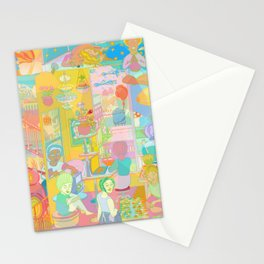 Divided But not Isolated Stationery Cards
