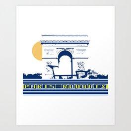 Paris - Roubaix Art Print