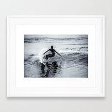 Surfer #3 Framed Art Print