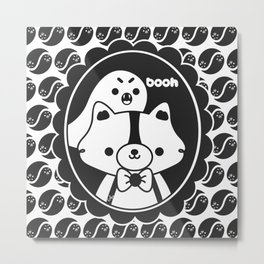 Apolo y el Fantasma Koko Metal Print