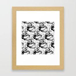 Java Love 2B by Kathy Morton Stanion Framed Art Print