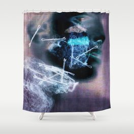 Pin It Shower Curtain