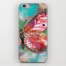 Create What Sets Your Heart On Fire iPhone & iPod Skin