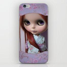 Erregiro Blythe Custom Doll Oriental Lavander iPhone Skin