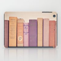 literary iPad Cases featuring Literary Gems II by Laura Ruth
