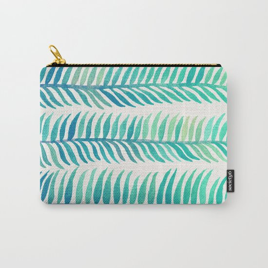 Seafoam Seaweed Carry-All Pouch