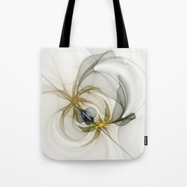 Together We Are Strong, Abstract Fractal Art Tote Bag