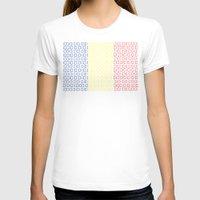 chad wys T-shirts featuring digital Flag (Chad) by seb mcnulty
