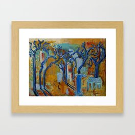 The Light and the Truth Framed Art Print