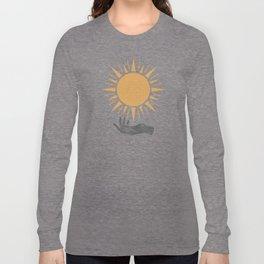 Sunburst Hand Long Sleeve T-shirt