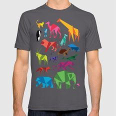 Paper Animals Asphalt X-LARGE Mens Fitted Tee