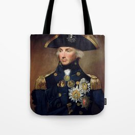 Admiral Horatio Nelson Tote Bag