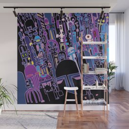 SILICON VALLEY HIGH Wall Mural