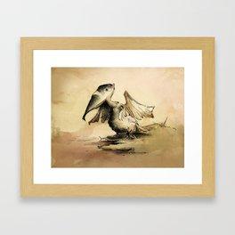 Pelican (Aus series) Framed Art Print