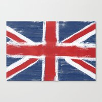 uk Canvas Prints featuring UK by Justified