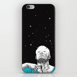 Bad words from the depths of the past. iPhone Skin