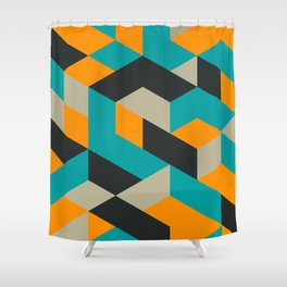Tri V Shower Curtain
