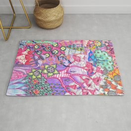 Trippy Forest Full Version Rug