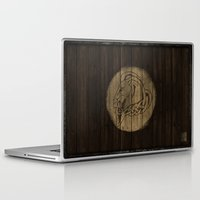 skyrim Laptop & iPad Skins featuring Shield's of Skyrim - Whiterun by VineDesign