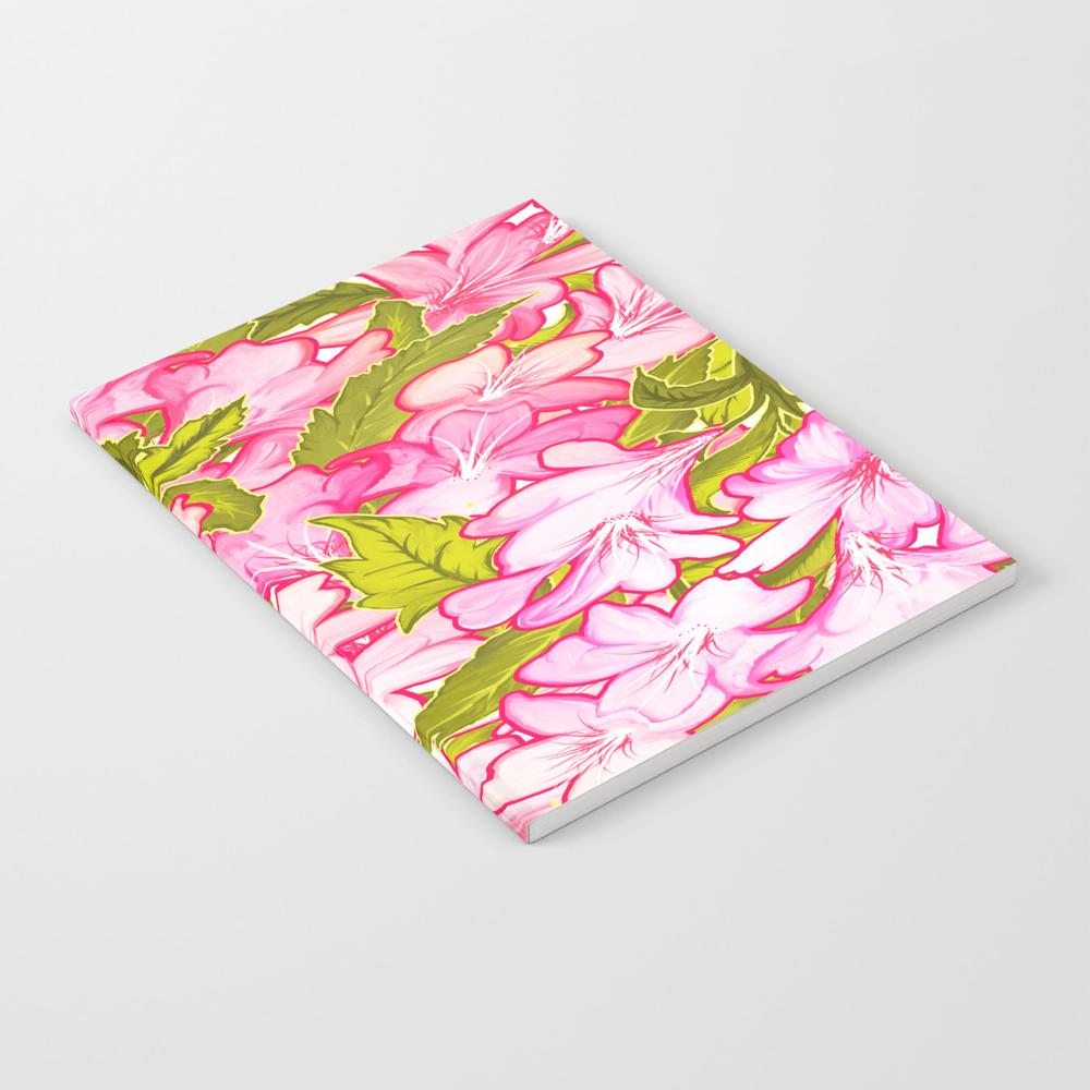 Pink Wonder #society6 #decor #buyart Notebook by 83oranges NBK7582796