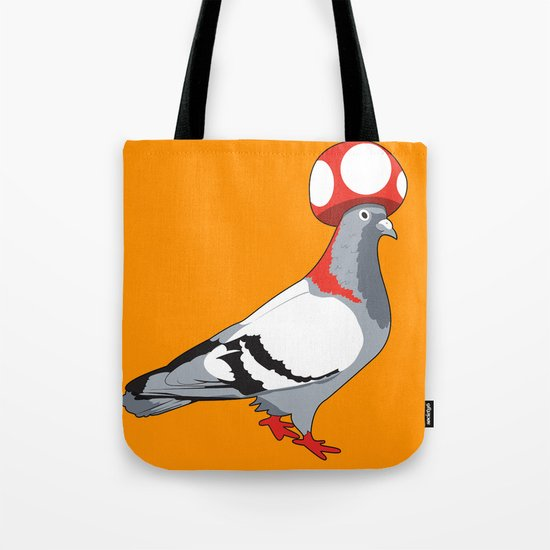 Pigeon Toad. Tote Bag