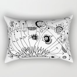 Trip the Light Fantastick Rectangular Pillow