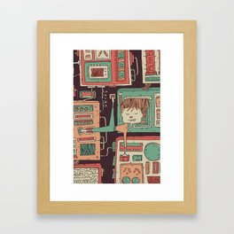 Everything you always wanted to know about mobile communication but where afraid to ask 3 Framed Art Print