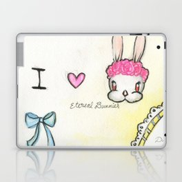 Duchess in Summer-I Heart Bunny Laptop & iPad Skin