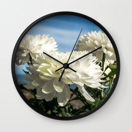 Naturally Floral Wall Clock
