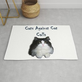 Cats Against Cat Calls Rug