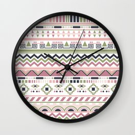 spring ethnic Wall Clock