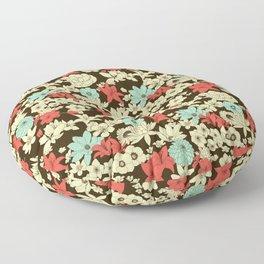 Flower Market Floor Pillow