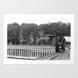 The Winch Art Print
