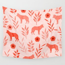 Forest Animal and Nature II Wall Tapestry