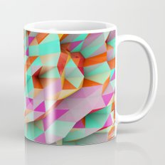 Polygons Sphere Abstract Mug