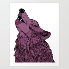 Howlin for Love Art Print