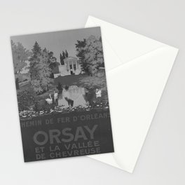 retro retro ORLEANS Orsay poster Stationery Cards