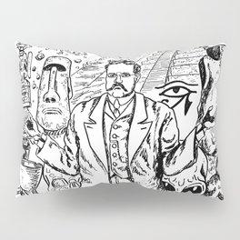 Charles Fort Pillow Sham